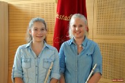 Querfl�ten-Duo der Musikkapelle Pernitz